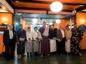 第69代 横綱ご来店!長浜の幸を堪能されました。